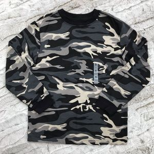 [Old Navy] Camouflage Long Sleeve Tee S Small 6-7